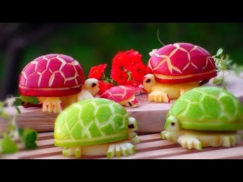 Cách Trình Bày Hoa Từ Trái Cây – Tập 25