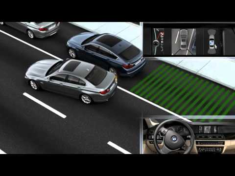 BMW All New 5 Series Parking Assist