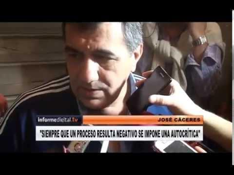 <b>Banca en el Senado.</b> Jose Caceres reconoce la derrota en el departamento Paran�