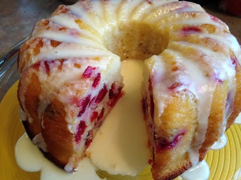 Cranberry Orange Cake - Rise Wine & Dine - Episode 118
