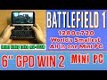 GPD WIN 2 Battlefield 1 (no tweaks !!!) - 128 GB SSD 8GB RAM Mini PC Intel m3-7Y30 HD Graphics 615