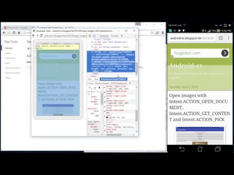 Remote debug web page on Android with Chrome DevTools - UCUC46OBgd9H1gmQIpNp4_uw