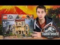 INDORAPTOR!! - Indoraptor Rampage Jurassic World 2 Lego Set - Review/Build