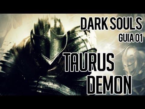 Dark Souls - Guia Parte 01 - Boss Taurus Demon - N i l l O 21...