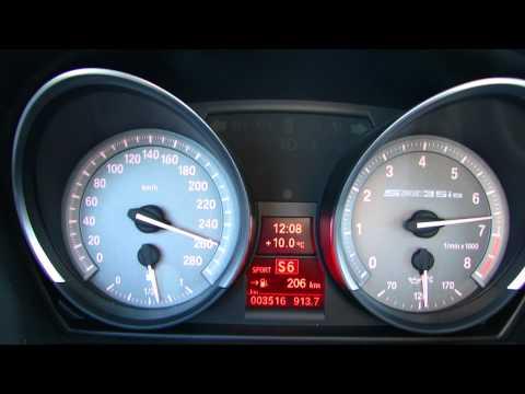 BMW Z4 sDrive 35is E89 (DKG) - 0-262 km/h Acceleration (V-max)