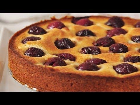 Cherry Cake Recipe Demonstration - Joyofbaking.com