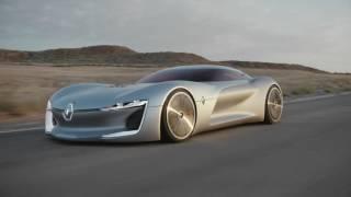 Renault представил концепт с крышей-дверью