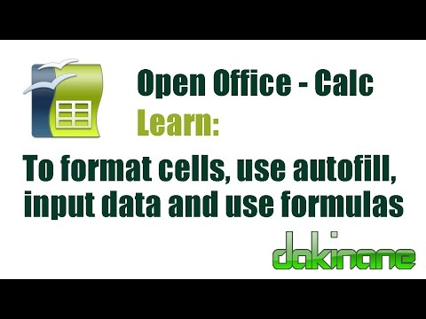 open office calc