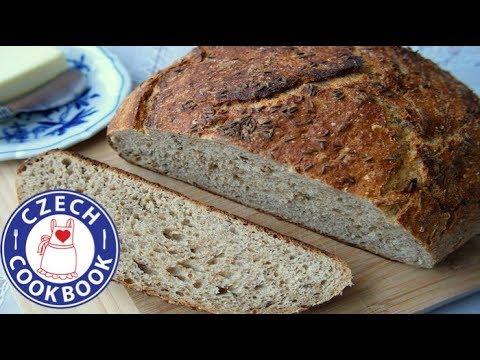 Rye Bread Recipe - Chleba - Czech Cookbook