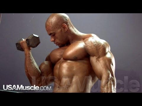2012 NPC Nationals Men's Bodybuilding Pump Room Part 3