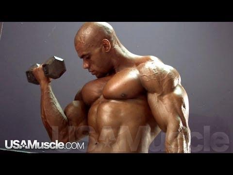 2012 NPC Nationals Men's Bodybuilding Pump Room Part 3