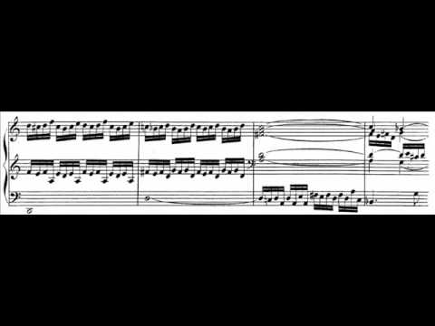 JS Bach - BWV 538 - Toccata d-moll / D minor