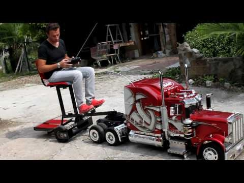 ModelTruck Peterbilt  359 RC con Biga.mp4
