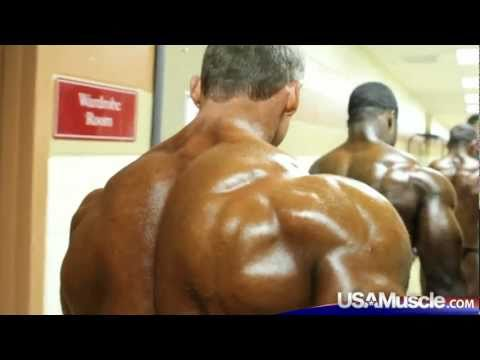 Backstage at the 2011 IFBB PBW Tampa Pro Championships