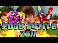 Фрагмент с начала видео - FOOD BATTLE 2011 (EN ESPAÑOL)