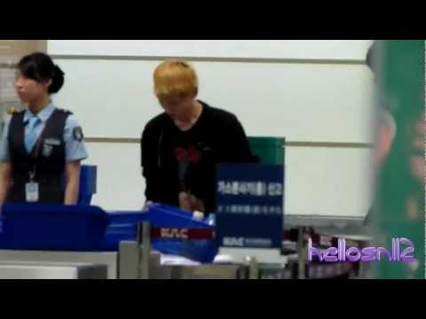 111002 SHINee Key@Gimpo Airport