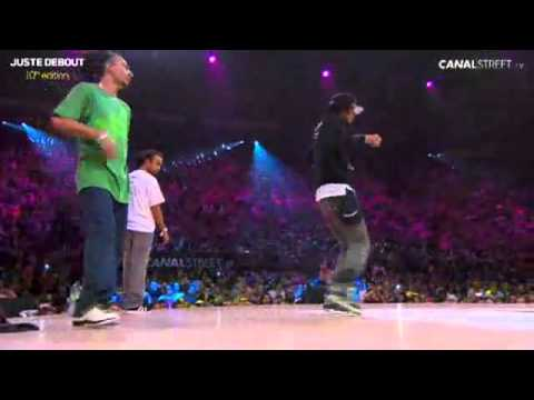 Juste Debout 2011 Hip-Hop new style Final - Les Twins vs U-kay Aldo