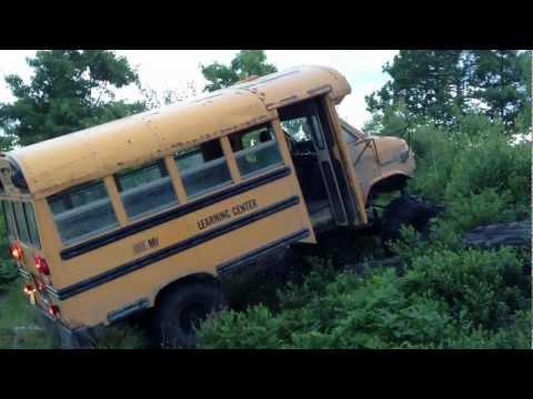 Rock crawler 4x4 short bus poster