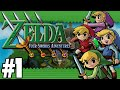 the legend of zelda: four swords adventures (4 players) - part 1