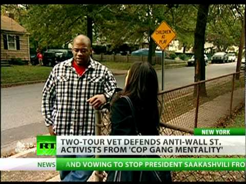 Vet vs NYPD: Marine turns tables on cop gang mentality