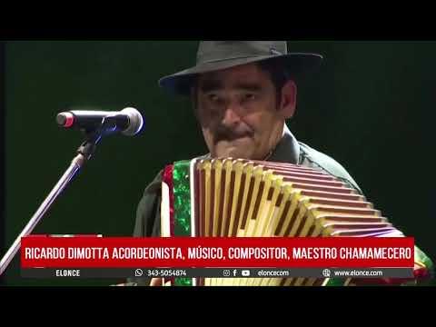Ricardo Dimotta el ecordeonista y compositor, dialogó con Elonce TV
