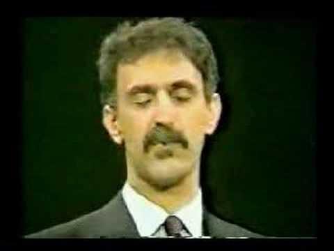 "Zappa defines ""Fascist Theocracy"""