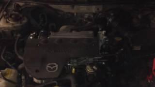 ДВС (Двигатель) Mazda 626 Артикул 900052077 - Видео