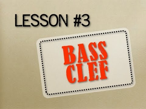 How to Read Music - Lesson 3 - Bass Clef (with FREE DOWNLOAD)