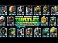 СРАЖЕНИЕ ВСЕХ ГЕРОЕВ игры Черепашки ниндзя Легенды Турнир бой всех героев TMNT Legends