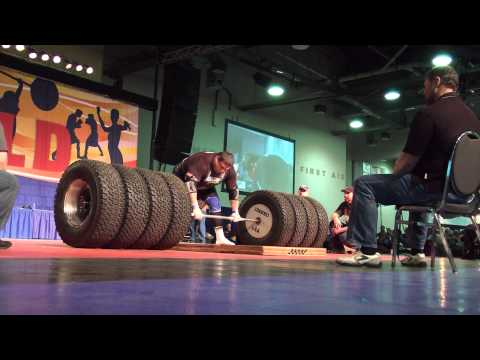 World Record Deadlift 1117 pounds ->500kgs
