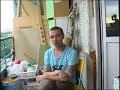Фрагмент с начала видео Интервью Дельфина (Dolphin) на балконе часть 2