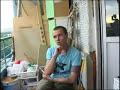 Фрагмент с средины видео Интервью Дельфина (Dolphin) на балконе часть 2