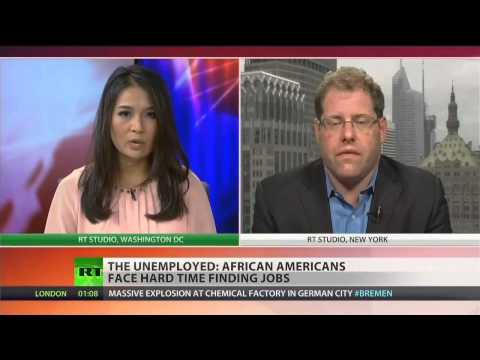 Does the American system doom African-Americans to failure?  9/10/14  (Unemployment)
