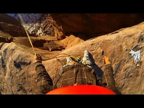 Insane Rope Swing !!! - Canyon Cliff Jump