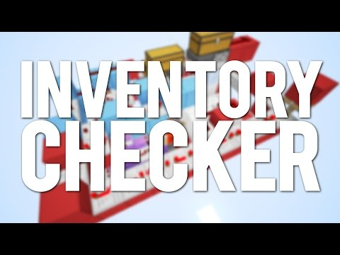 Too Small: Inventory Checker Secure Entrance [Minecraft Concept]