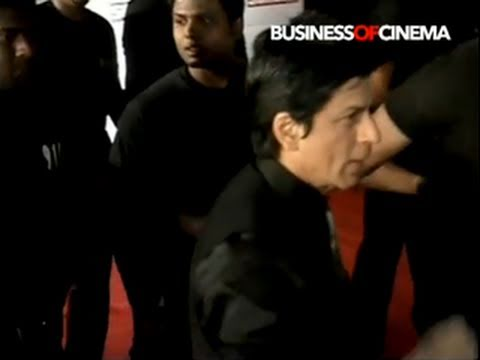 Shah Rukh Khan, Karan Johar, Kajol, Katrina Kaif at Star Screen Awards 2011
