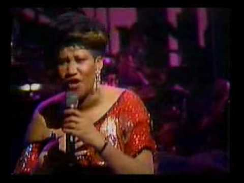 aretha franklin natural woman (live)