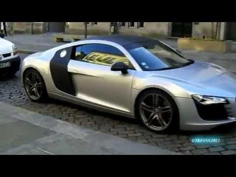 Emigrante com Audi R8 nas ruas de Viana do Castelo