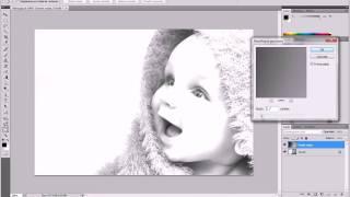 Como hacer una imagen a lapiz photoshop