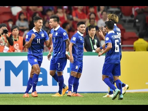 Singapore vs Thailand: AFF Suzuki Cup 2014 Highlights
