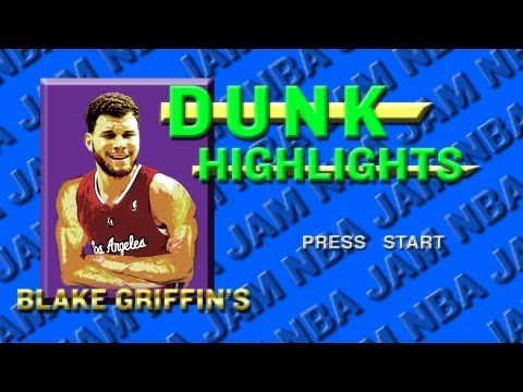 Blake Griffin Slam Dunks 2011-2012: NBA Jam Style