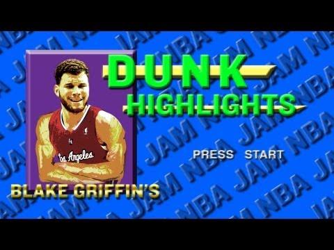 Blake Griffin Slam Dunks 2011-2012: NBA Jam Style