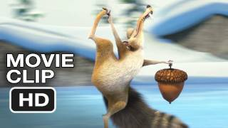 Ice Age Mammoth Christmas Movie CLIP - The Acorn-Obsessed Scrat (2011) HD