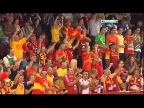 Macedonian Basketball Team - EuroBasket 2011 Lithuania