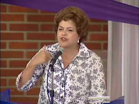 """Dilma: """"Eu não fujo quando a situação fica difícil"""""""