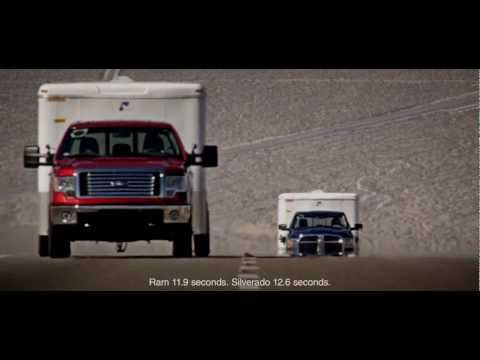 "Ford F-150 ""Hero"" V6 EcoBoost Demo Test: Head to Head vs. Dodge Ram 1500 & Chevrolet Silverado Truck"