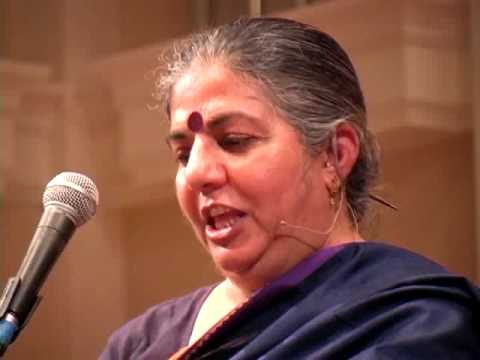 AN EVENING WITH VANDANA SHIVA