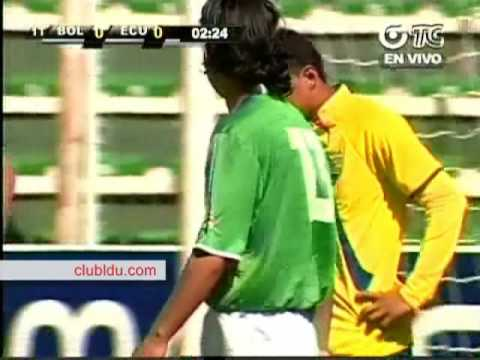 Bolivia 1 vs Ecuador 3 - Eliminatorias Sudafrica 2010