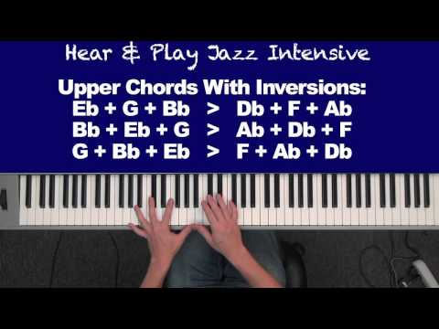 Jazz Intensive With James Wrubel Video 3 - Ending With Style (5-1 Chord Progression)