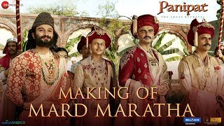 Making Of Mard Maratha - Panipat